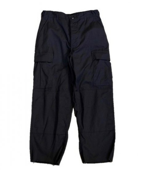 BLACK 357 B.D.U.TROUSERS