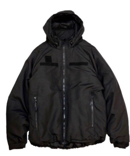 U.S MILITARY/LEVEL7 PRIMALOFT ECWCS PARKA BLACK CHICAGO POLICE