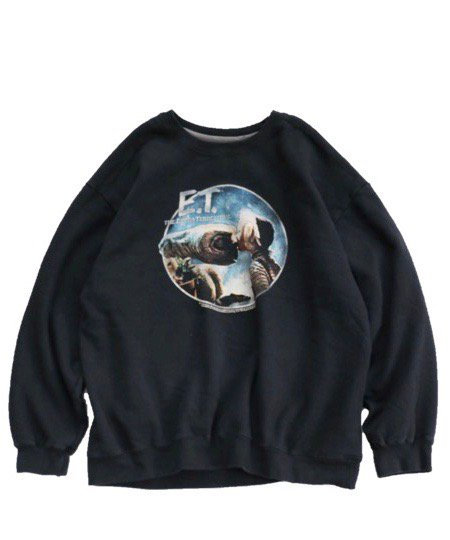 THRIFTY LOOK/CREW SWEAT E.T.