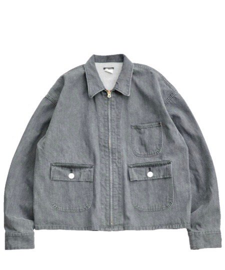 SUNNY SPORTS/DENIM EG SHORT JACKET