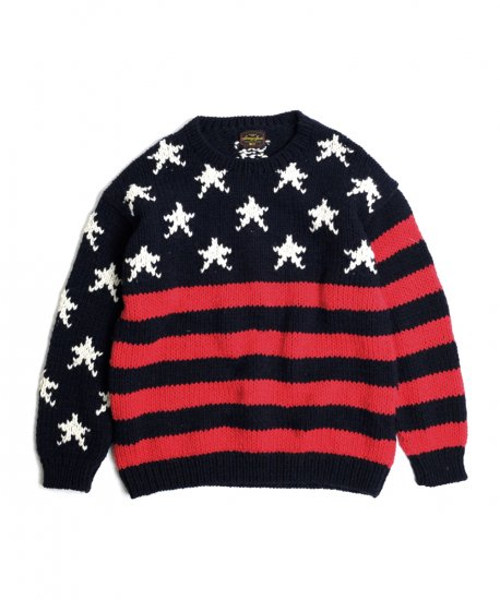 SUNNY SPORTS/FLAG CREW SWEATER