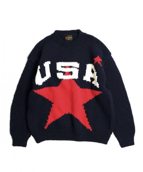 SUNNY SPORTS/USA CREW SWEATER