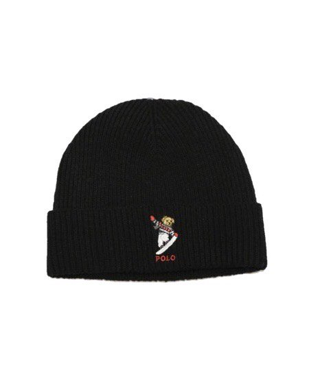 POLO RALPH LAUREN / POLO BEAR KNIT HAT