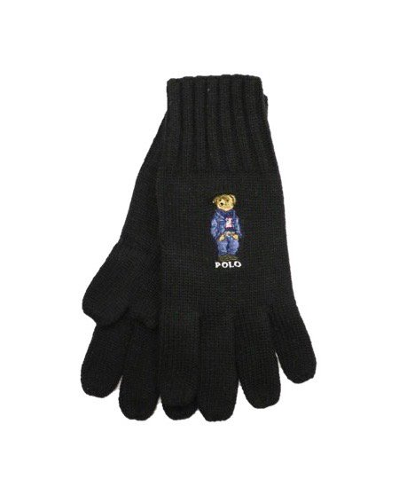 POLO RALPH LAUREN / POLO BEAR KNIT GLOVES