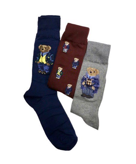 POLO RALPH LAUREN / POLO BEAR 3P PAIR GIFT BOX