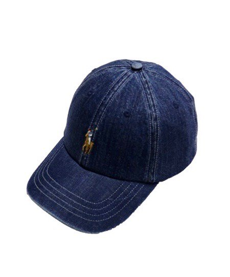 POLO RALPH LAUREN / CLASSIC PONY DENIM CAP