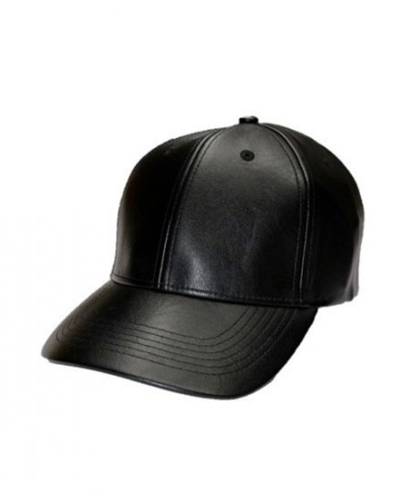 NEWHATTAN/PU LEATHER BB CAP
