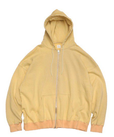 MADE IN STANDARD/BIG SWEAT ZIP HOODY