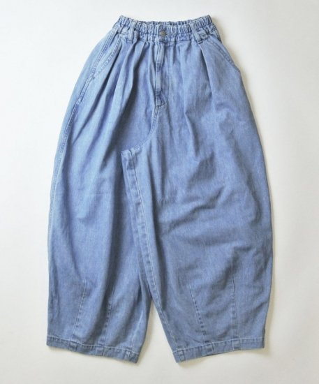 HARVESTY / DENIM CIRCUS PANTS