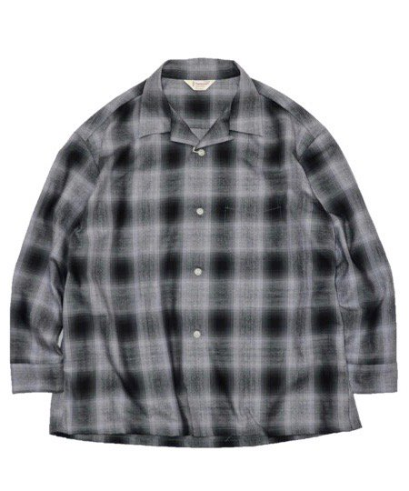TOWNCRAFT / CHECK OPEN SHIRTS