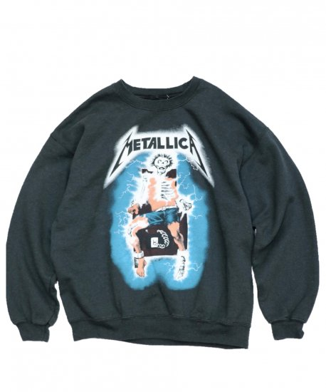 THRIFTY LOOK/CREW SWEAT METALLICA