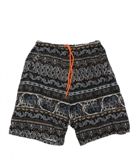 TOWN CRAFT / PRINTED PAJAMA SHORTS