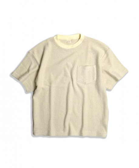 TOWN CRAFT / KNIT POCKET TEE