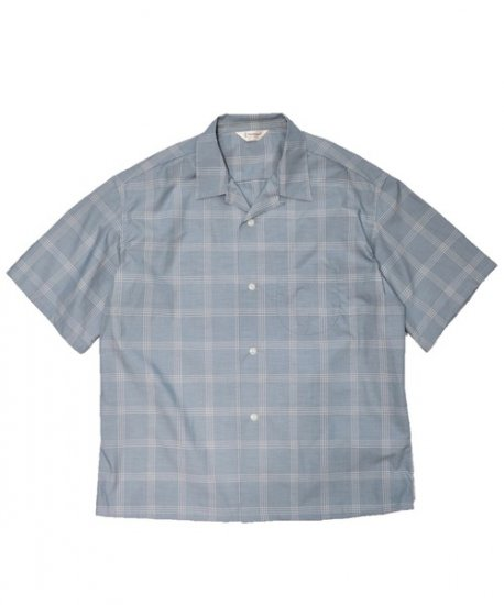 TOWN CRAFT / CHECK OPEN SS SHIRTS