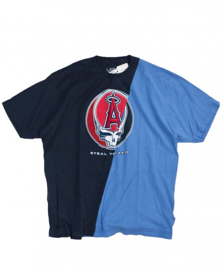 THRIFTY LOOK / TWINS MLB TEE Los Angeles Angels×Grateful Dead