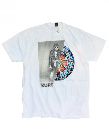 THRIFTY LOOK/TWINS MIX TEE.KURT COBAIN×RED HOT CHILI PEPPERS