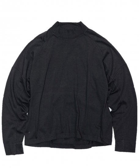 WILLY CHAVARRIA/LS BUFFALO PANEL MOCK NECK