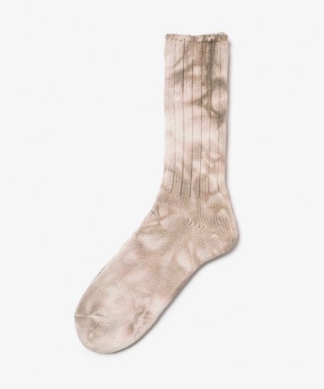hobo / Tie Dye Cotton Rib Socks