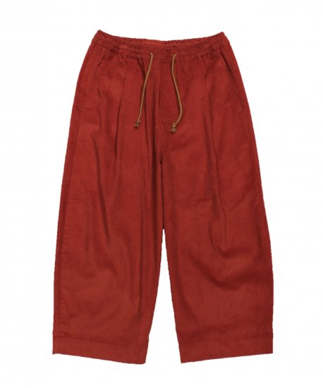 GREI / OVATE BAGGY PANT CORD