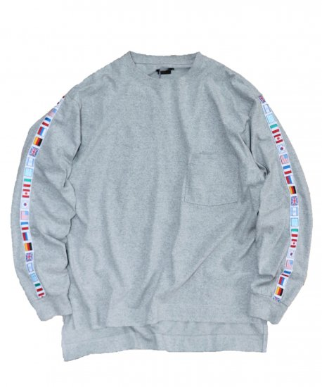 SUNNY SPORTS / FLAG LS POCKET CREW