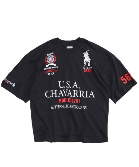 WILLY CHAVARRIA/CANAL STREET RUFF NECK SS TEE