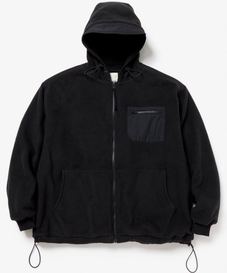 YSTRDY'S TMRRW /FLEECE COZY HOODED BLOUSON