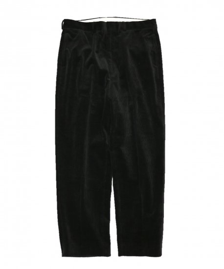TOWN CRAFT/CORDUROUY WIDE TROUSERS