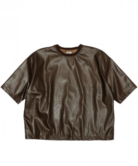 WILLY CHAVARRIA / SYNTHETIC LEATHER BUFFALO TEE