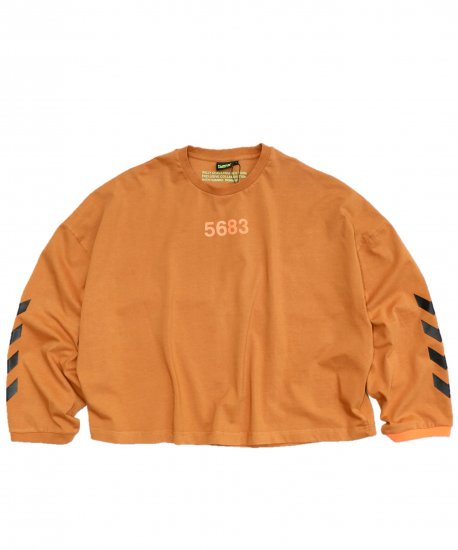 WILLY CHAVARRIA / WC×HML RUFF NECK T L/S