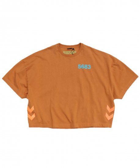 WILLY CHAVARRIA / WC×HML RUFF NECK T S/S