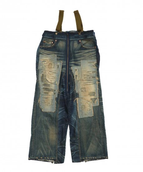 ONE IN THE WORLD / DENIM DECK PANTS