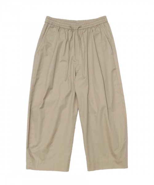 GREI / OVATE BAGGY PANTS TWILL