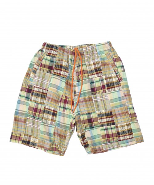 SUNNY SPORTS / PATCHWORK RELAX 2PARTS SHORTS