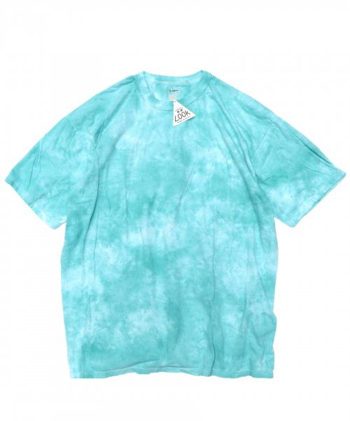 RE CONSTRUCT / TIE DYE MILITARY TEE