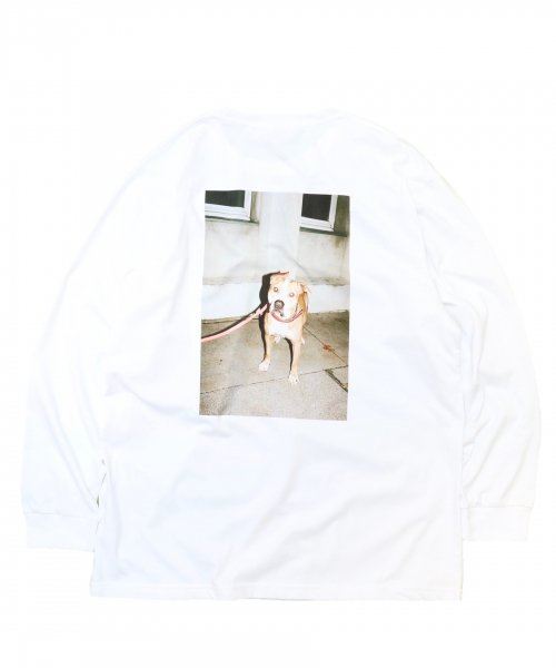 WHITEHOUSE3000/ AARON L/S TEE ポスター付き