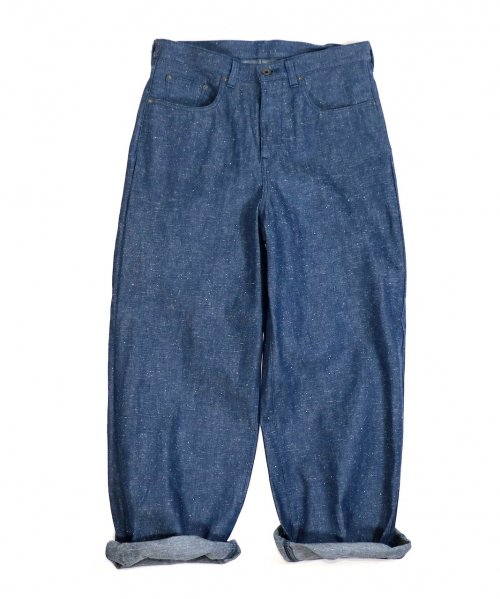 SUNNY SPORTS / LOOSE WIDE  5POCKET DENIM PANTS RIGID