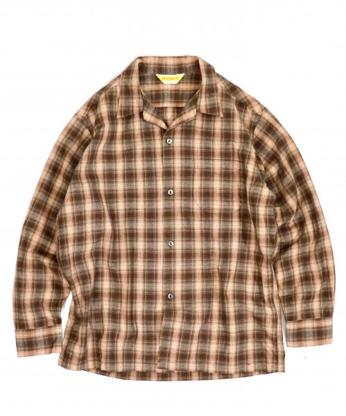 PENNEY'S / CLASSIC CHECK OPEN SHIRTS