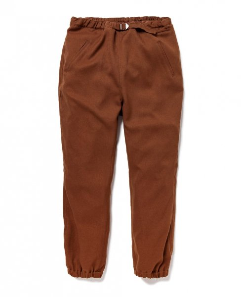 YSTRDY'S TMRRW / WOOLLY TWILL ADAM EASY RIB PANTS