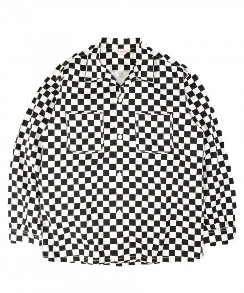 TOWNCRAFT / CHECKER PRINTED OPEN SHIRTS