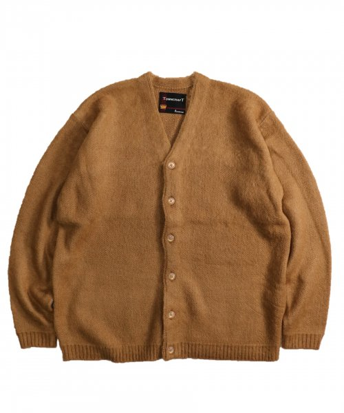 TOWNCRAFT / SOLID JAQUARD 70S CARDIGAN