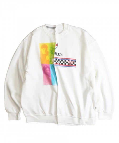 THRIFTY LOOK / TWINS CREW SWEAT