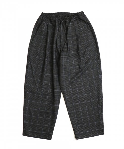 MADE IN STANDARD / THICKEST CHECK WIDE PANTS