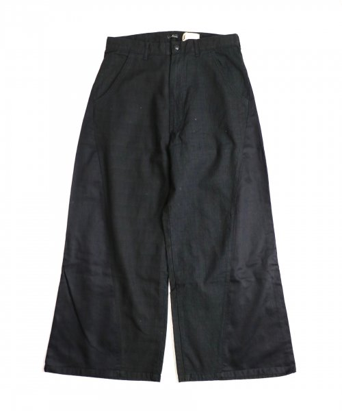 ONE IN THE WORLD / 91 BLACK WIDE PANTS