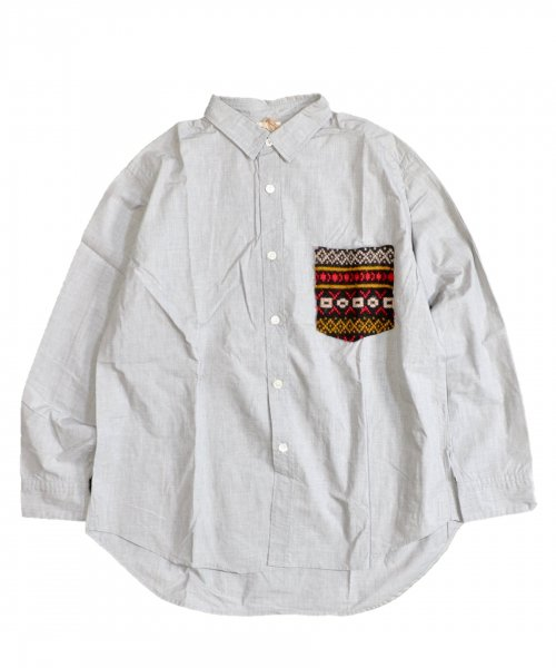 ONE IN THE WORLD / PATCH POCKET SHIRTS