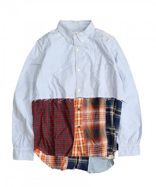 ONE IN THE WORLD / PANEL CHECK SHIRTS