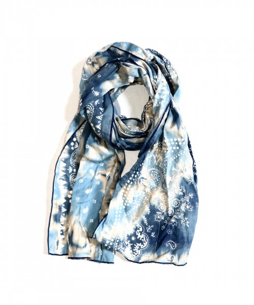 ONE IN THE WORLD / TIE DYE NAVY STOLE