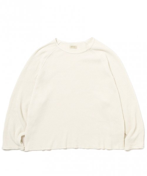 YSTRDY'S TMRRW / DREAMER CREW TOP LS COTTON THERMAL