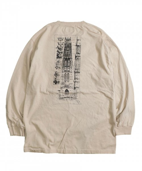 SUNNY SPORTS /  YALE HARKNESS TOWER LS TEE