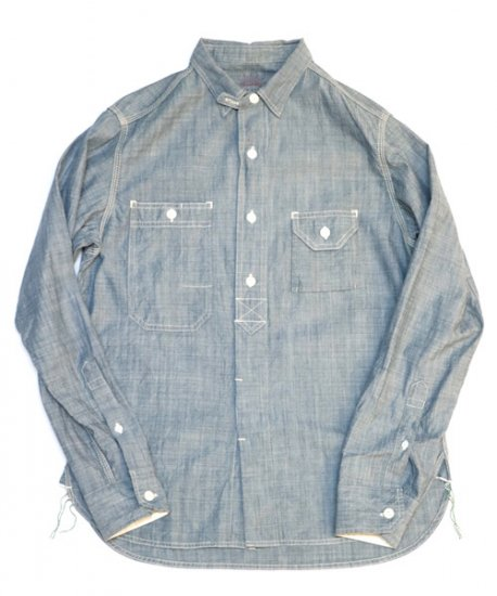 SUNNY SPORTS/40'S ORGANIC WORK SHIRTS
