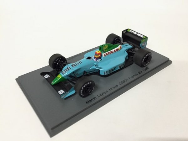 1/43LeytonHouse CG901 #15 French GP1990 MauricoGugeimin
